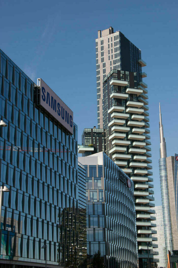 Porta Nuova Garibaldi Milan Cast in Anchor Channels