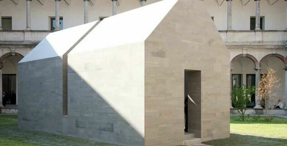 House of stone ventilated facade