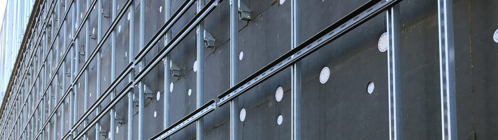 fastenings for ventilated facades