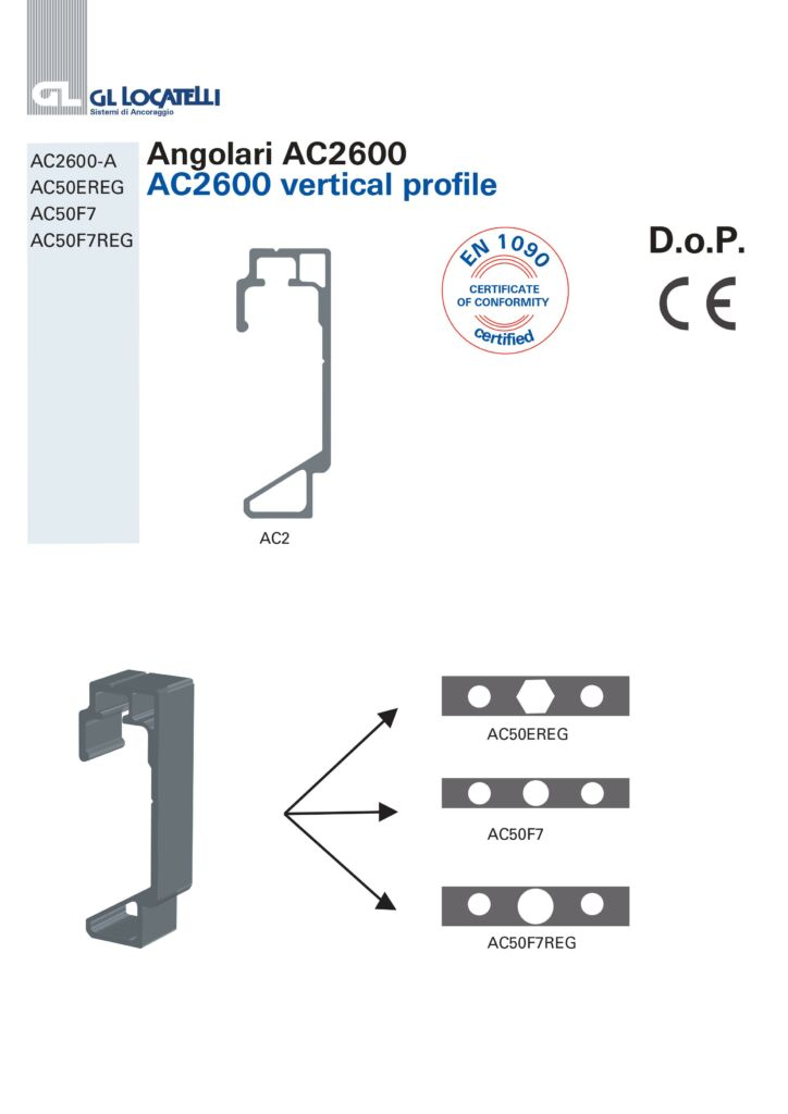 AC2600 VERTICAL PROFILE