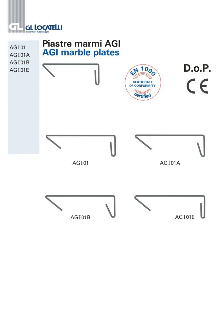 AGI MARBLE PLATES