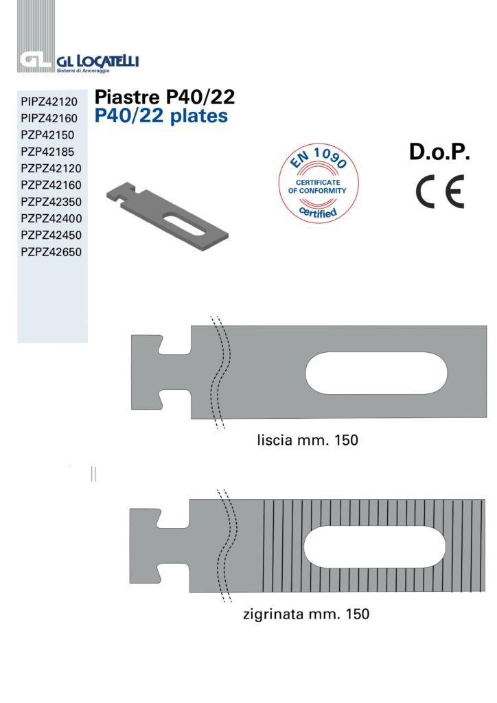 DOP Piastre P4022