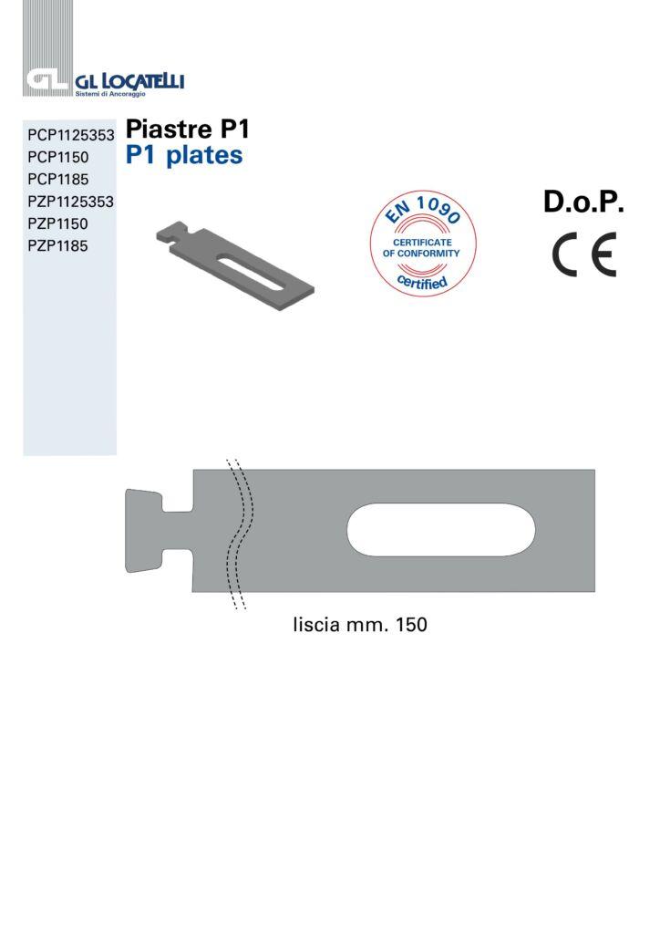P1 PLATES