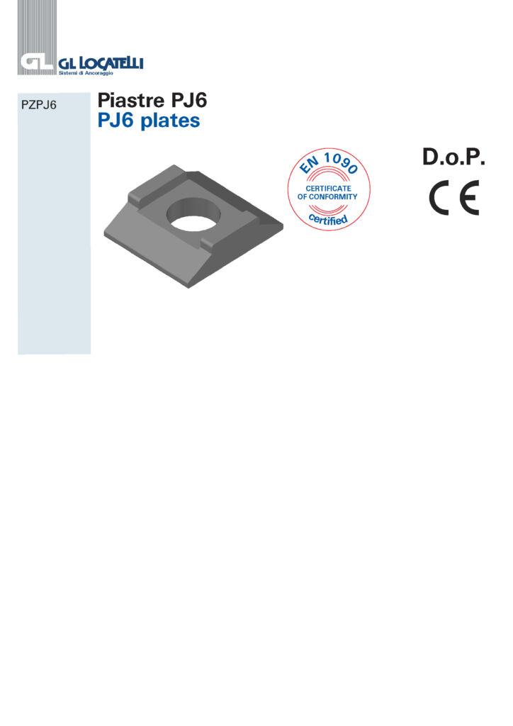 PJ6 PLATES