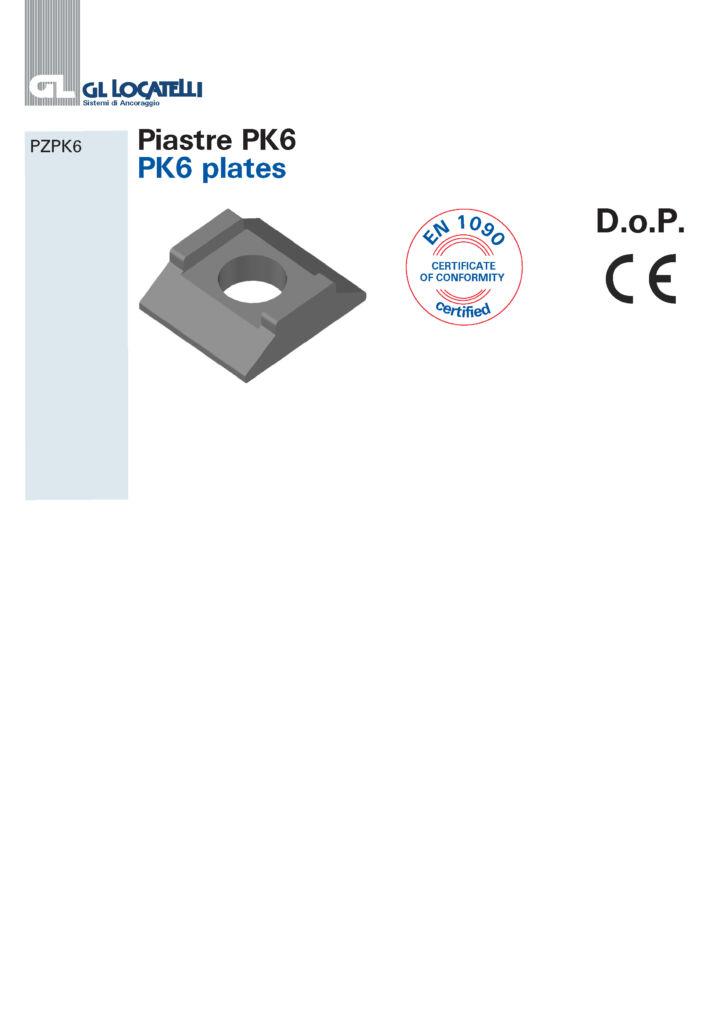 PK6 PLATES
