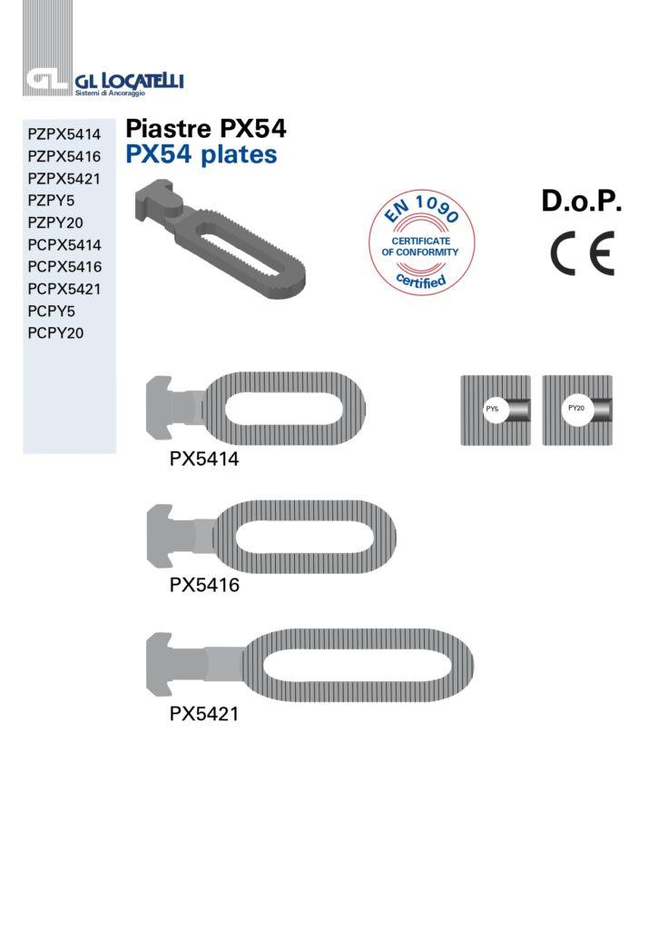 PX54 PLATES