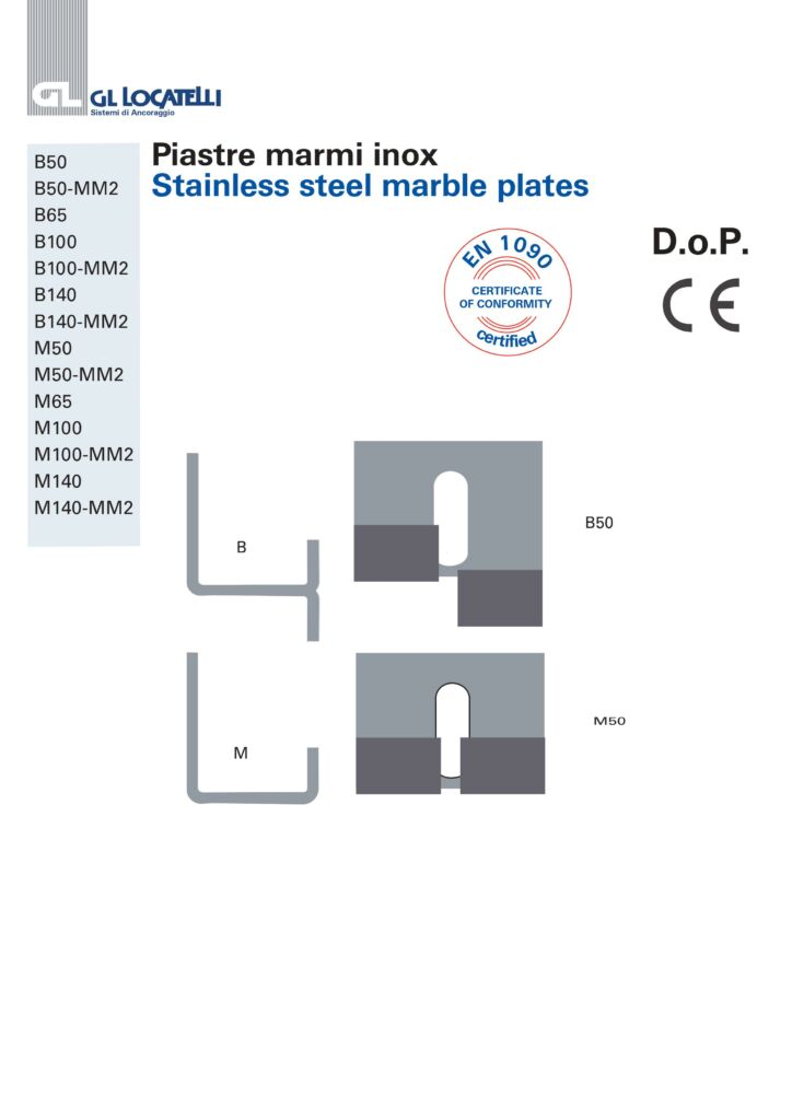 STAINLESS STEEL MARBLE PLATES