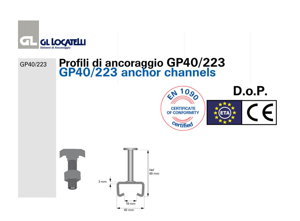 DoP profili GP40:223