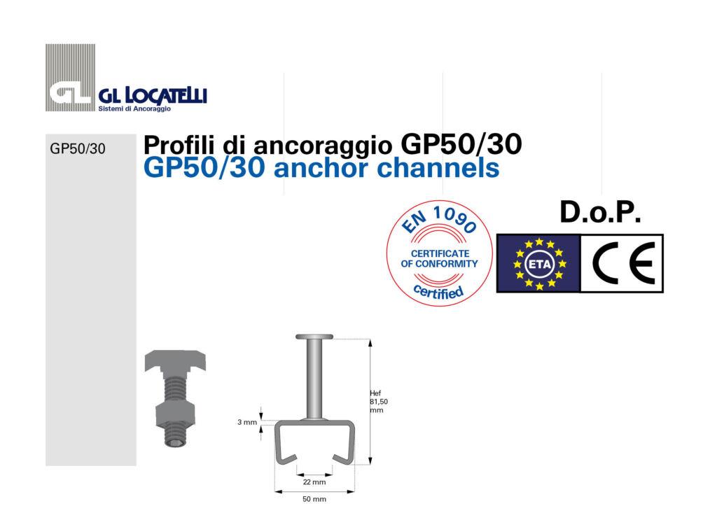 DoP profili GP50:30