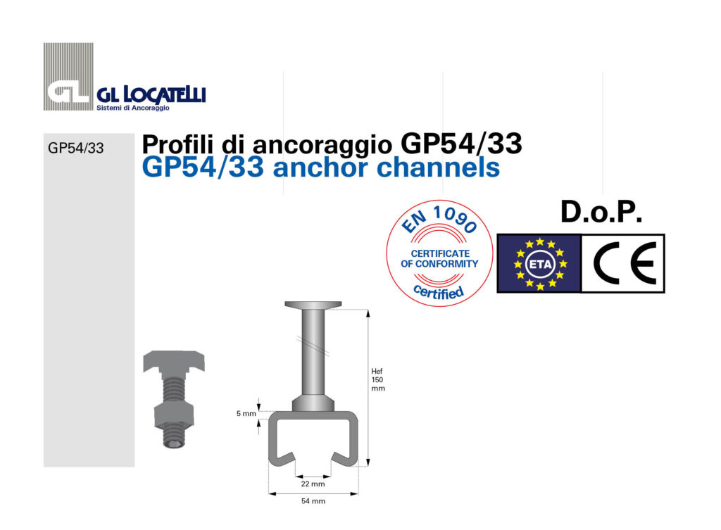DoP profili GP54:33