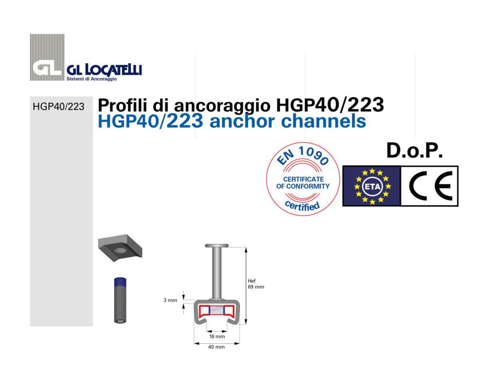 DoP profili HGP40223