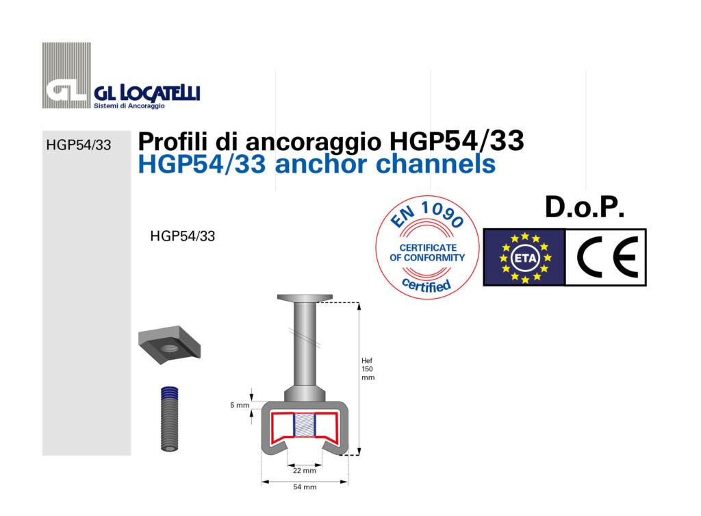 DoP profili HGP54:33